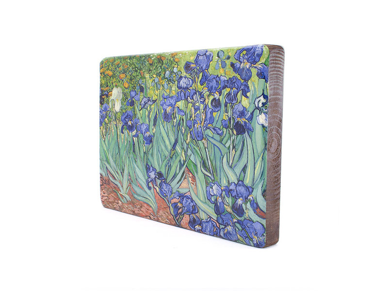 Masters-on-wood, Irissen, Vincent van Gogh , 300 x  195 mm