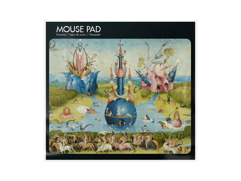 Alfombrilla para ratón, Hieronymus Bosch, Jardín de las delicias