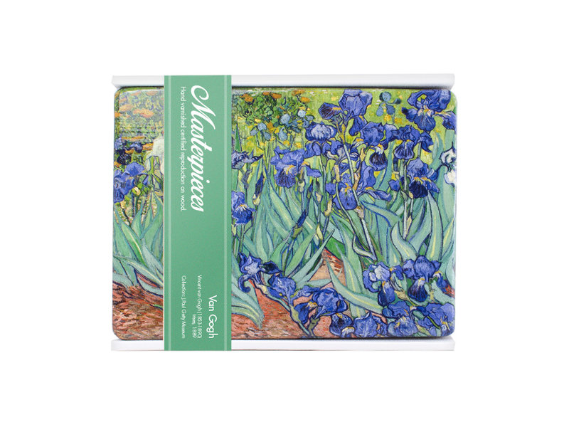 Meister auf Holz, Iris, Van Gogh,  300 x  195 mm