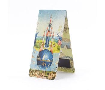 Magnetisches Lesezeichen, Jheronimus Bosch, Garten der irdischen Freuden 1