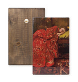 Masters-on-wood, Breitner, Girl in red kimono,  300 x  195 mm