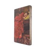 Maîtres-sur-bois, Breitner, Fille en kimono rouge,  300 x  195 mm