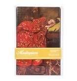 Masters-on-wood, Breitner, Meisje in rode kimono, 300 x  195 mm