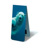 Juego de 3, marcapaginas magnético, Ártico