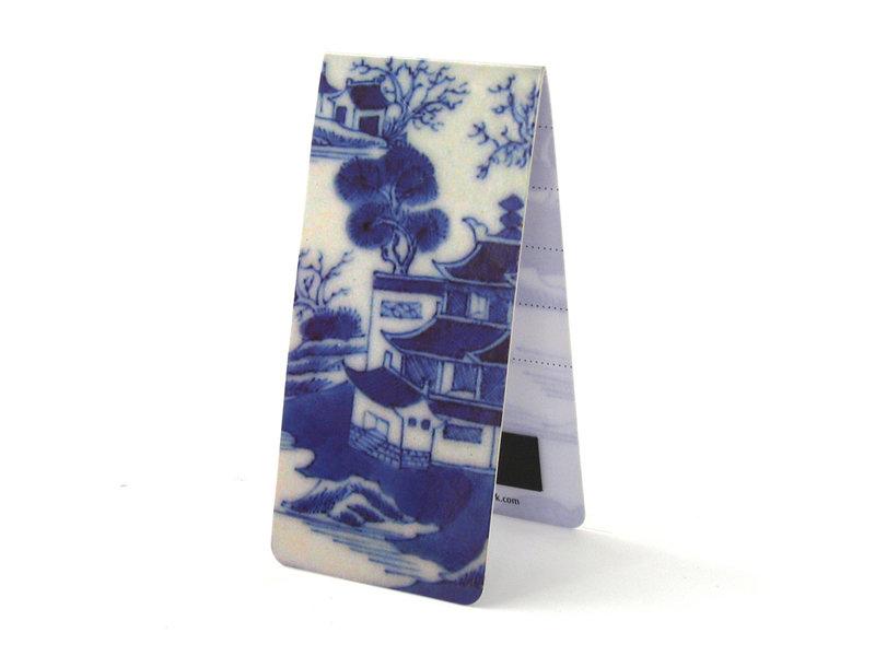 Juego de 3, marcapaginas magnético, Porcelana china