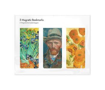 Lot de 3, signets magnétiques, Vincent van Gogh2
