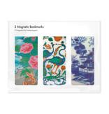 Set van 3, Magnetische boekenleggers Chinees porselein