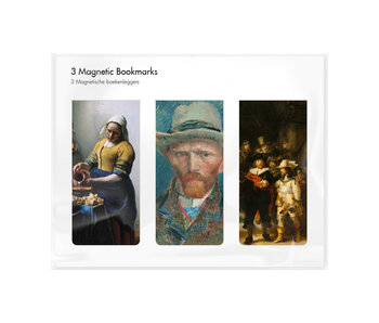 Set of 3, Magnetic bookmark, Rijksmuseum 2