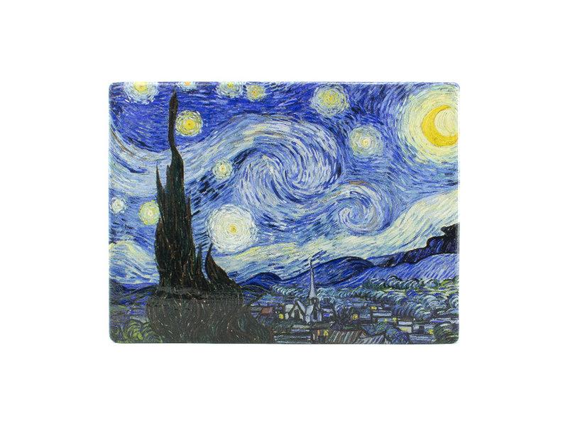 Masters-on-wood, Sterrennacht, Vincent van Gogh , 300 x  195 mm