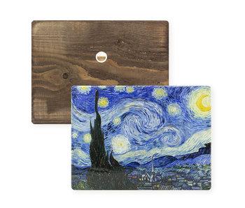 Masters-on-wood,  Starry night, Vincent van Gogh
