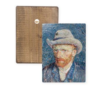 Masters-on-wood,  Selfportrait, Vincent van Gogh
