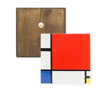 Meister auf Holz, Mondriaan