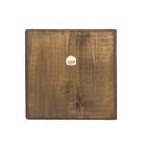 Masters-on-wood, Mondriaan, compositie met groot rood vlak