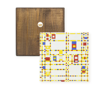 Masters-on-wood, Mondriaan, Broadway Boogie Woogie