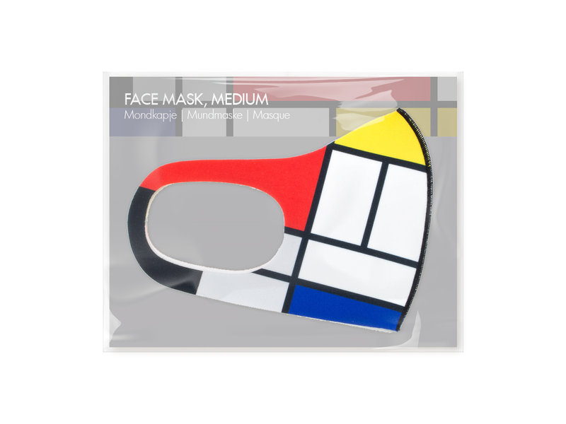 Face mask, Mondrian LF