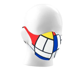 Face mask, Mondriaan LF