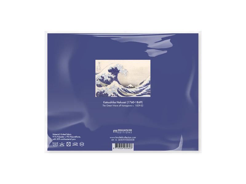 Mund Maske, Hokusai, die große Welle LF