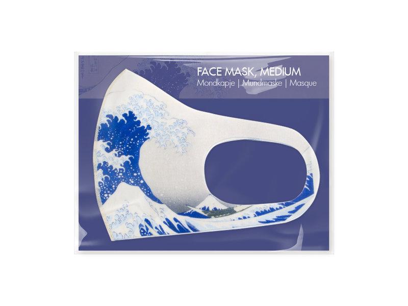 Face mask, Hokusai, The Great Wave LF