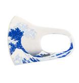 Máscara de la boca, Hokusai, la gran ola LF