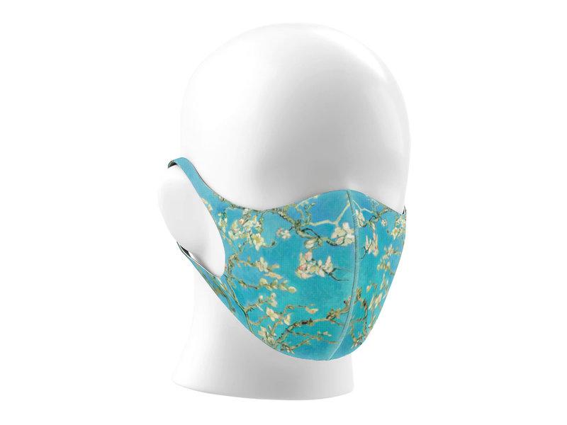 Máscara de la boca, Vincent van Gogh, Flor de almendro LF