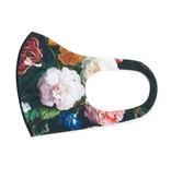Mund Maske, Blumenstillleben, De Heem LF