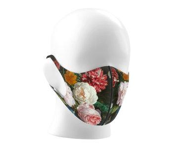 Máscara de la boca, Bodegón de flores, De Heem LF