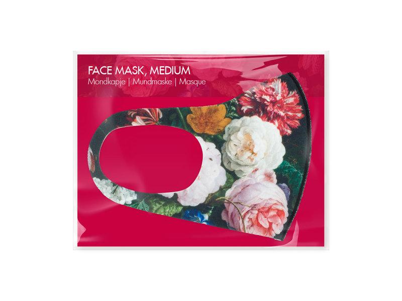 Masque buccal, Nature morte aux fleurs, De Heem LF