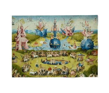 Plakat 50x70,  Jheronimus Bosch, Garten der irdischen Freuden