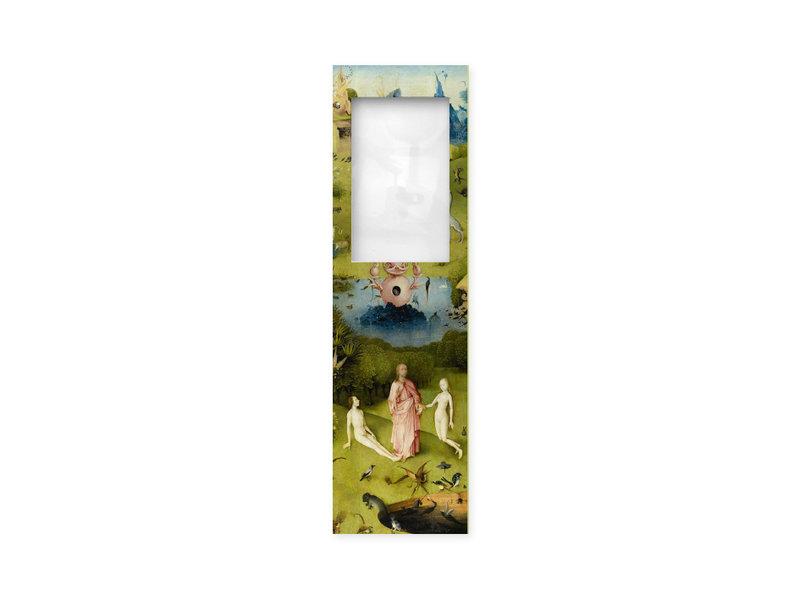 Lesezeichen mit Lupe, Der Garten der Lüste, Jheronimus Bosch