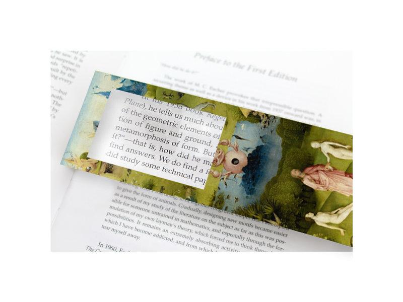 Marcador con lupa, El jardín de las delicias, Jheronimus Bosch