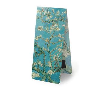 Marcapaginas magnético Vincent van Gogh flor de almendro