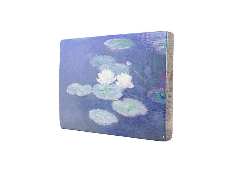 Maîtres-sur-bois, Monet, Nympheas effet du soir