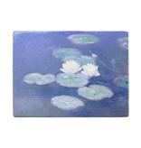 Masters-on-wood,  Waterlelies in avondlicht, Monet