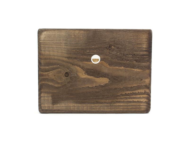 Maestros en madera,  Monet, nenúfares en la luz del atardecer