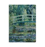 Documentenmap met elastiekje,  A4, Monet, Japanse brug