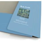 Portfolio with elas.tic closure A4 , Monet, Monet, Japanese bridge