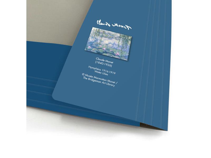 Carpeta portadocumentos , A4, Monet, Nenúfares