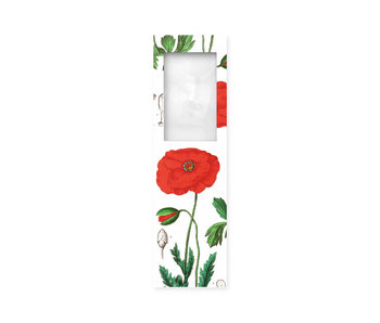 Marque-page avec loupe,Coquelicot, Hortus Botanicus