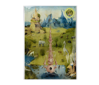 Mini  Poster A4,Jheronimus Bosch, Garden of Earthly Delights