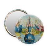 Espejo de bolsillo,  Ø 80 mm,Jheronimus Bosch, Jardín de las delicias
