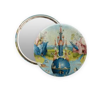 Spiegeltje, Ø 80 mm,  Jheronimus Bosch, Tuin der Lusten