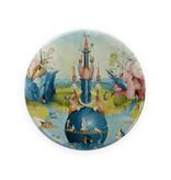 Zakspiegeltje, Ø 80 mm,  Jheronimus Bosch, Tuin der Lusten