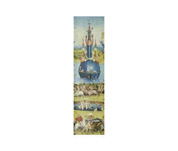Marcapaginas clásico,  Jheronimus Bosch, Jardín de las delicias