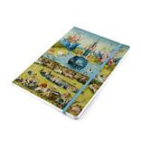 Softcover-Notizbuch, A5, Jheronimus Bosch, Garten der irdischen Freuden