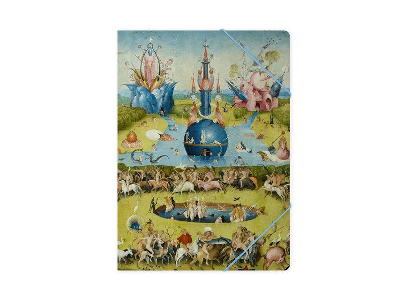 Dossier avec élastique, A4, Jheronimus Bosch, jardin des délices terrestres