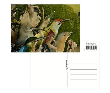 Carte postale, Jérôme Bosch, Jardin des délices terrestres
