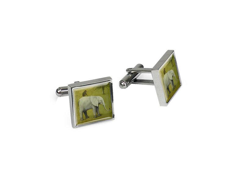 Boutons de manchette, Hieronymus  Bosch, Jardin des délices terrestres