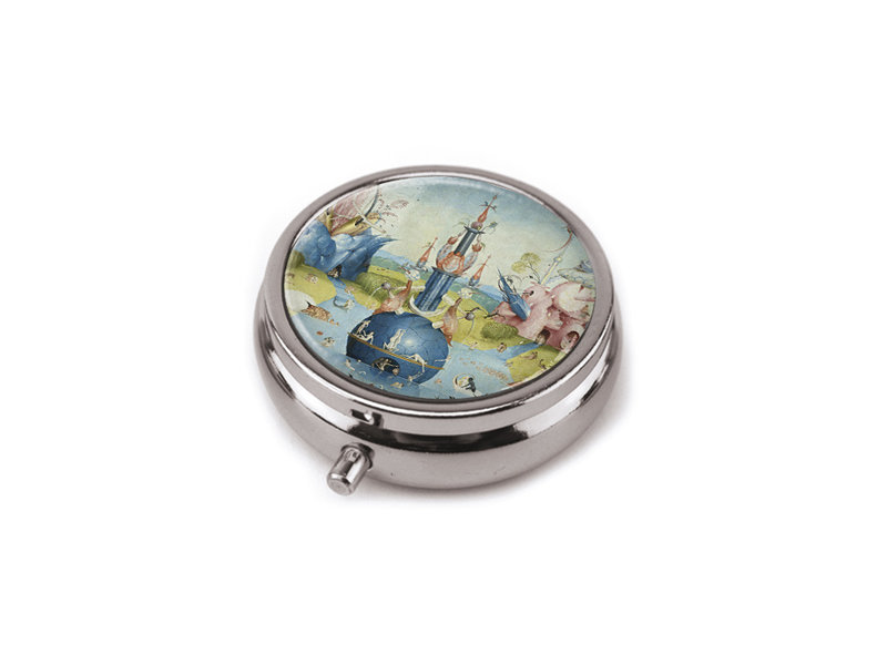 Pastillero,  Hieronymus Bosch, Jardín de las delicias