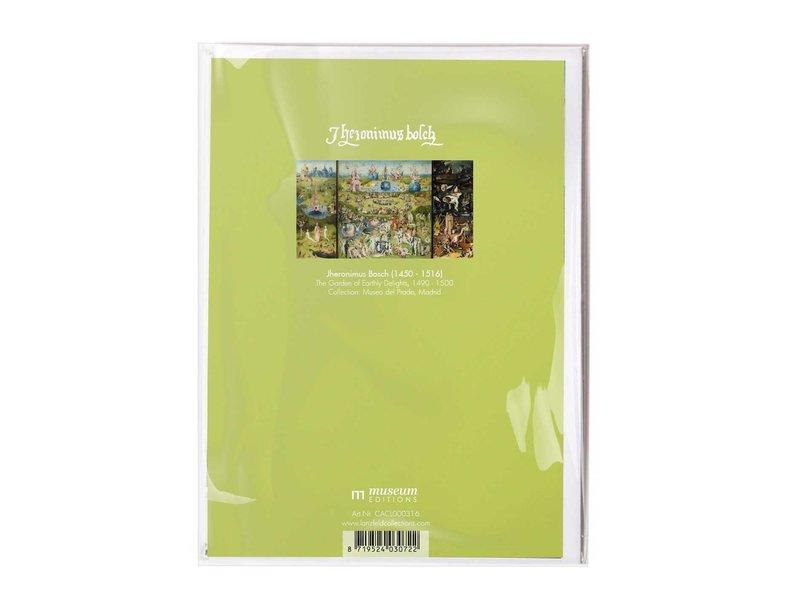 Doppelkarte mit Umschlag, Jheronimus Bosch,