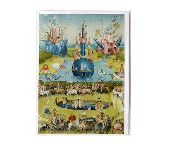 Dubbele kaart , Jheronimus Bosch, Tuin der Lusten
